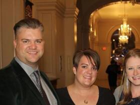 Nickolous and Rebekka Ward, Lauren Berndt, Adam Puhy