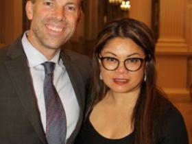 Jeff and Theresa Mazur