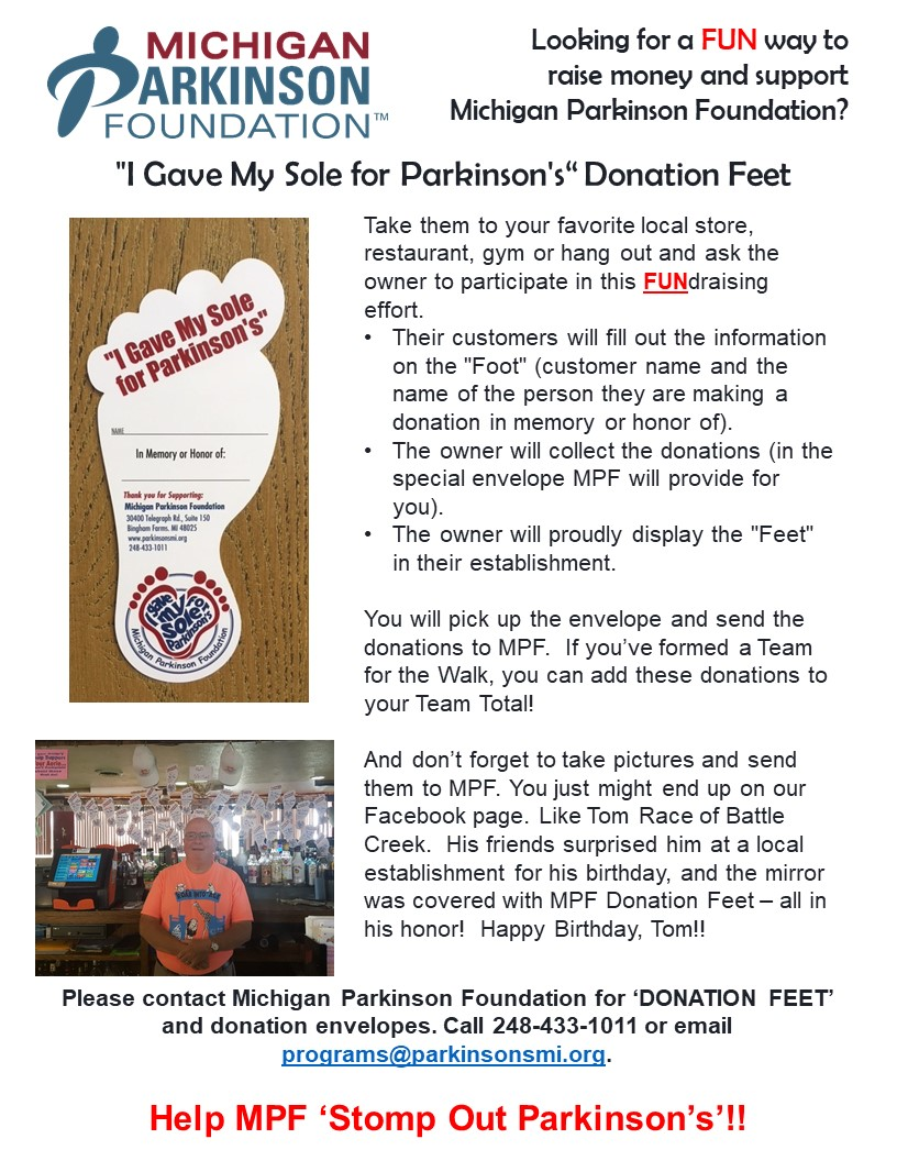 Foot Donations