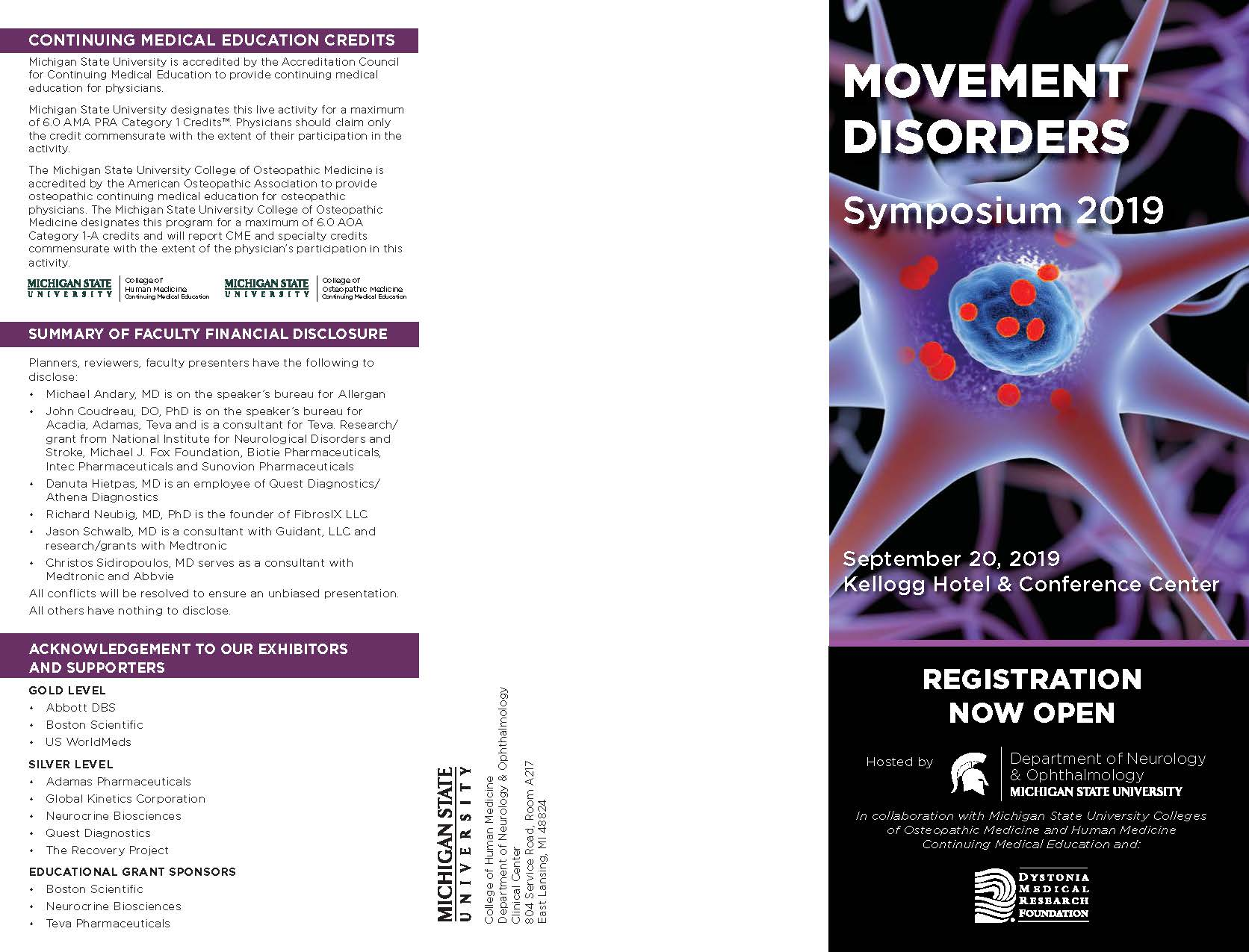 Movement Disorders MSU 2019 Page 1
